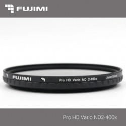 Светофильтр Fujimi Vari-ND / ND2-ND400 62mm