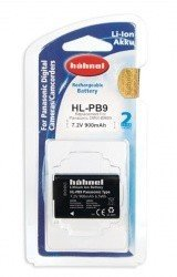 Аккумулятор Hahnel HL-PB9 for Panasonic DMW-BMB9 900mAh