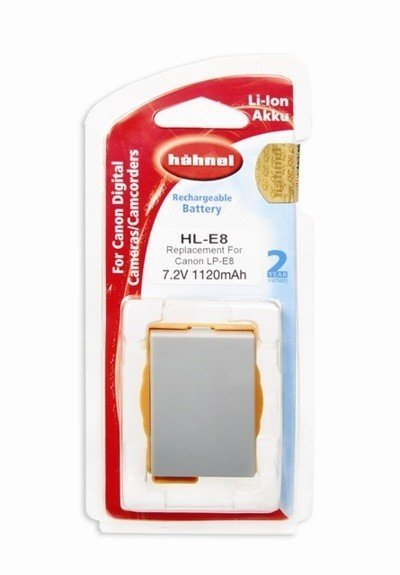 Аккумулятор Hahnel HL-E8 for Canon LP-E8 1120mAh