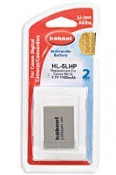 Аккумулятор Hahnel HL-5LHP for Canon NB-5L 1100mAh
