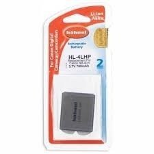 Аккумулятор Hahnel HL-4LHP for Canon NB-4L 760mAh