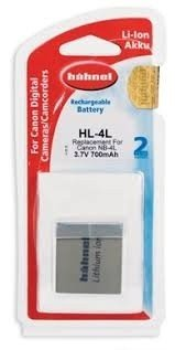 Аккумулятор Hahnel HL-4L for Canon NB-4L 700mAh